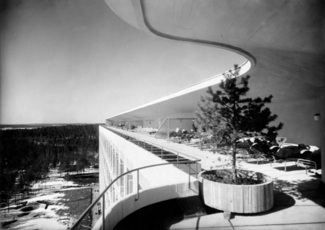 Alvar Aalto - Sanatorium de Paimio